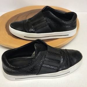 House of Prey Lace-free Leather Sneakers